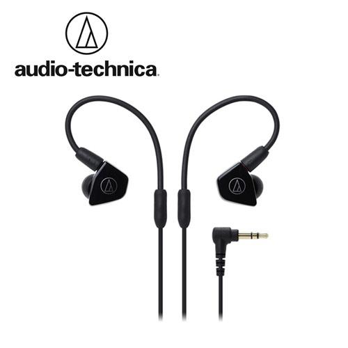 敦煌樂器Audio-Technica ATH-LS50雙動圈耳塞式耳機黑色款
