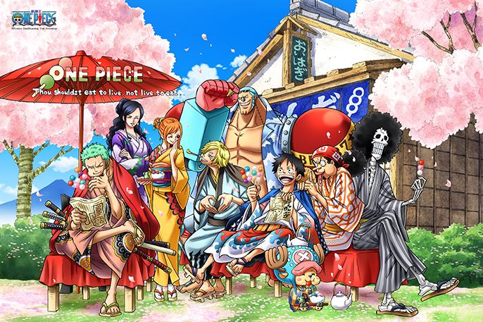 拼圖總動員PUZZLE STORY航海王-四季之春PuzzleStory海賊王One Piece 1000P