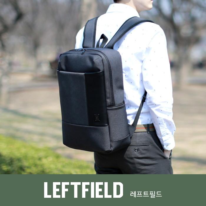後背包韓國LEFTFIELD皮革多用包電腦包書包側背包NO.388踢踢韓物商城