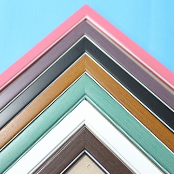 1000片拼圖框 台灣製原木條 木框 相框/一個入{促450} 50cm x 75cm 證書框 油畫框