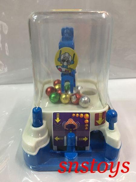 sns 古早味 懷舊童玩 玩具 抓糖機 糖果機 迷你夾娃娃機 長寬14*10公分(顏色隨機出貨)