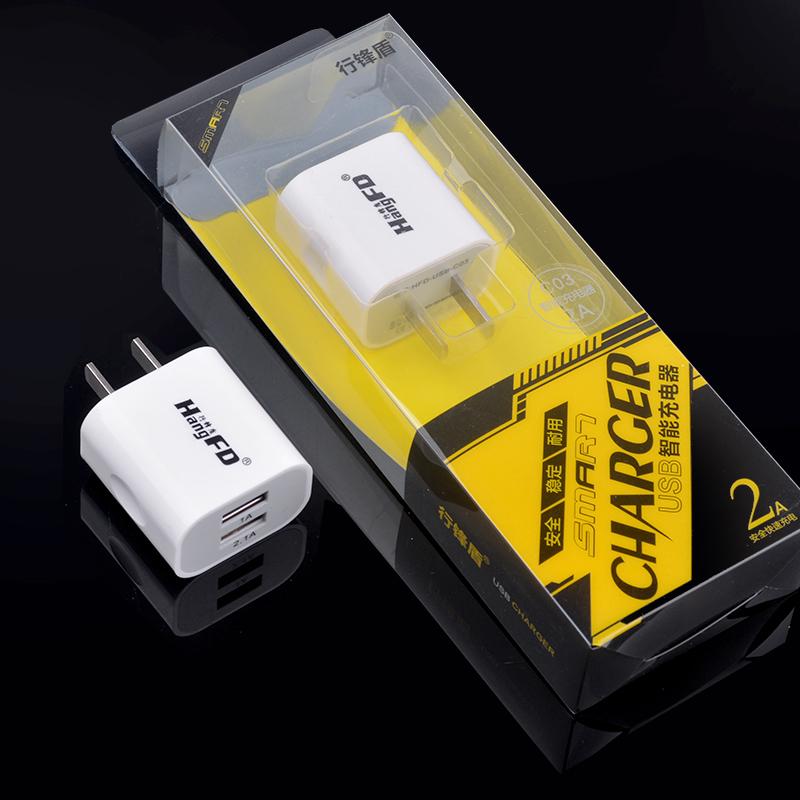 88柑仔店~行鋒盾C03 2A充電頭 適用 vivo OPPO智能快充手機2.1A USB充電器