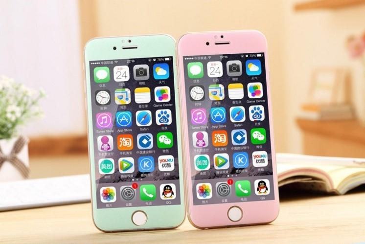 現貨蘋果iphone6 6s鋼化膜全屏曲面碳纖維3D保護膜手機膜抗刮玻璃膜抗指紋包覆
