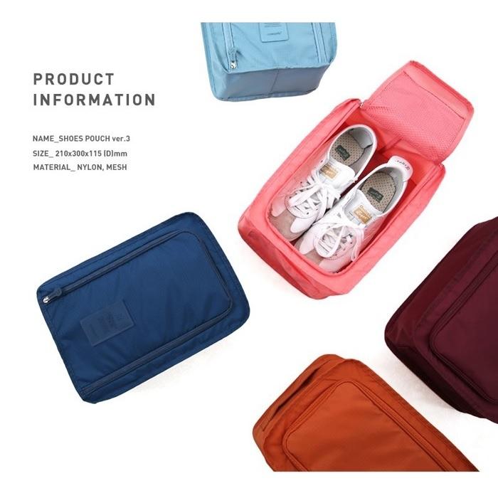 韓版出國旅行外出防水鞋袋收納袋二代小飛機收納鞋盒衣服收納袋RB341