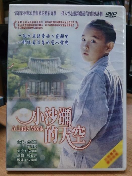 挖寶二手片-J13-048-正版DVD*韓片【小沙瀰的天空】金泰進*金禮玲