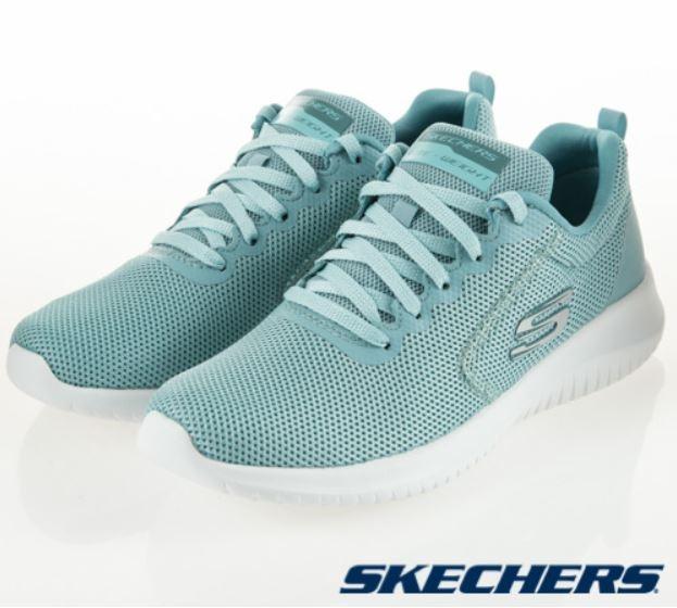 SKECHERS系列-ULTRA FLEX 女款運動鞋 湖水綠-NO.12846SAGE