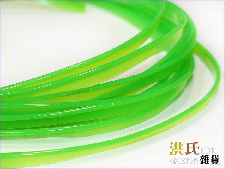 【洪氏雜貨】 280A275-6 電鍍飾條 綠款不挑10cm$2 單入 裝飾條 卡式嵌入式