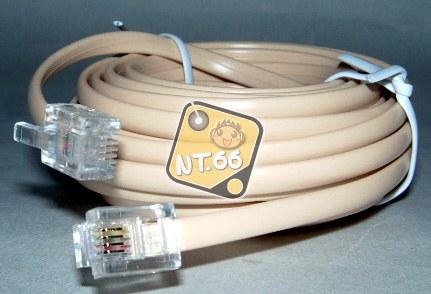 電話線 6P4C 5米 (NT-19)