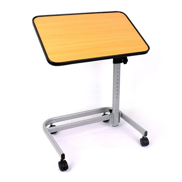 【富士康】移動旋轉餐桌 多功能升降桌 床邊桌 床上桌 書桌 FZK-130406