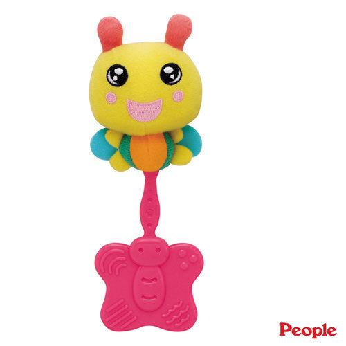【奇買親子購物網】日本People 小蜜蜂咬舔玩具