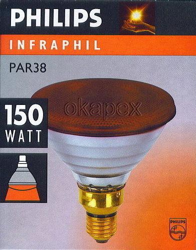 【燈王】《飛利浦燈泡》150W紅外線燈泡 ☆ PAR38 -150W