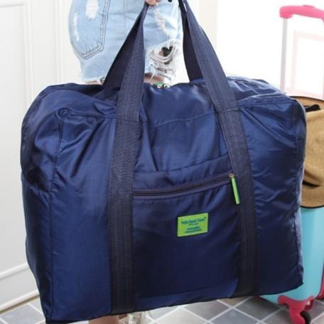 行李箱旅行收納包韓版防水尼龍折疊式旅遊收納袋衣服整理袋拉桿旅行袋D1033
