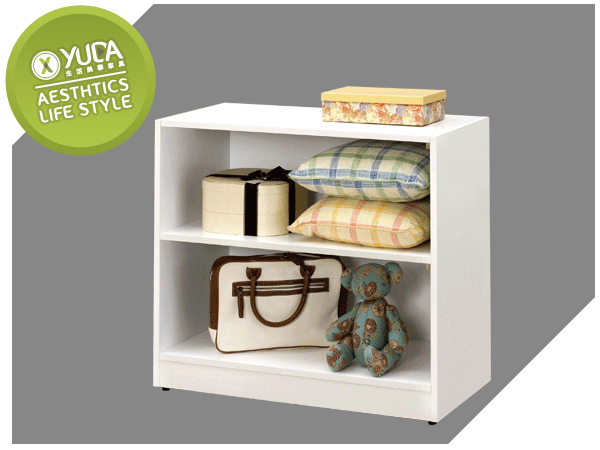 YUDA學生專案貝莎2.7尺書櫃收納櫃床頭櫃邊櫃置物櫃J7M 701-9