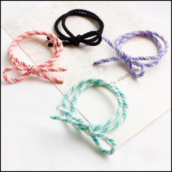 造型橡皮筋髮繩 髮圈★ifairies【54311】
