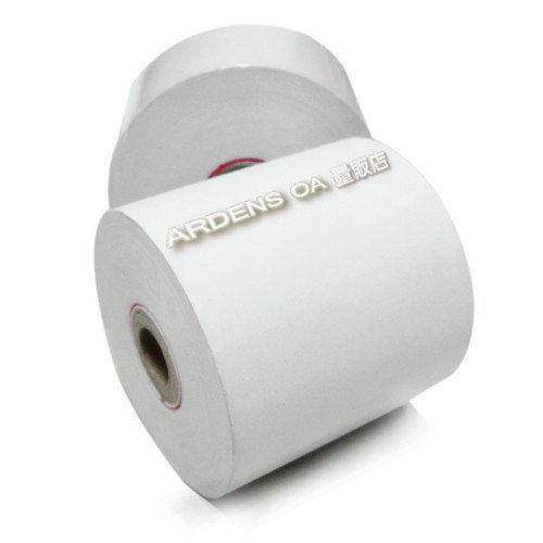 收據式收銀紙捲4.4x70一組10卷~另有一組5卷一組30卷