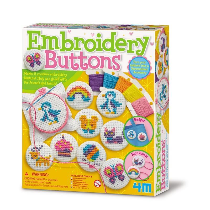 刺繡徽章 Embroidery Buttons 編織手工品