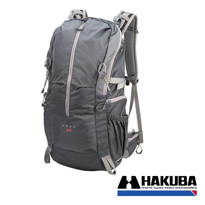 日本HAKUBA GW-ADVANCE PEAK 25先行者雙肩後背相機包銀灰色HA24996VT