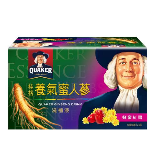桂格養氣蜜人蔘60ml*6入/盒【愛買】