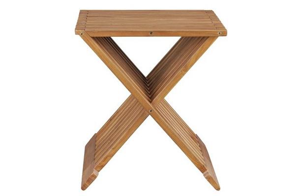 格柵摺疊椅【SCANDINAVIAN現代北歐】優渥實木家具 WMCH17T1