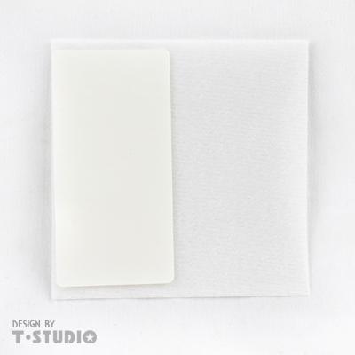 《T-STUDIO拉拉購物網》 薄型靜音粘貼補充包(白)