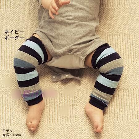 傑媽童裝A022日單藍黑灰條紋帥氣襪套A022