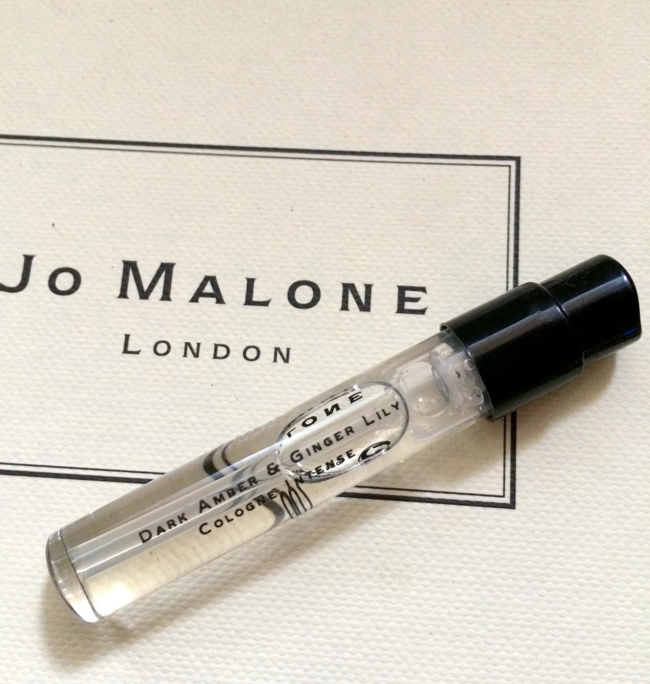*禎的家*英國 Jo Malone 試管小香 1.5 ml 限量發售 ~黑琥珀與野薑百合 新味道