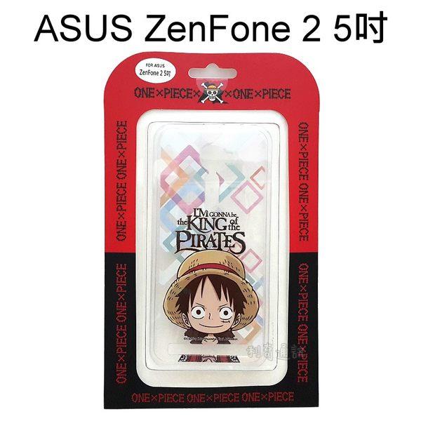 海賊王透明軟殼R52 ASUS ZenFone 2 ZE500CL Z00D 5吋航海王魯夫正版授權