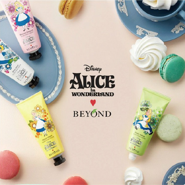 韓國BEYOND x ALICE閃耀愛麗絲乳木果油護手霜40ml櫻桃飾品24197
