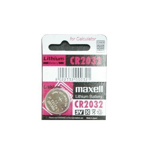 日本製 Maxell 麥克賽爾 3V CR2032(主機板電池,鈕扣電池,計算機,溫度計 LED燈 青蛙燈 自行車 尾燈)