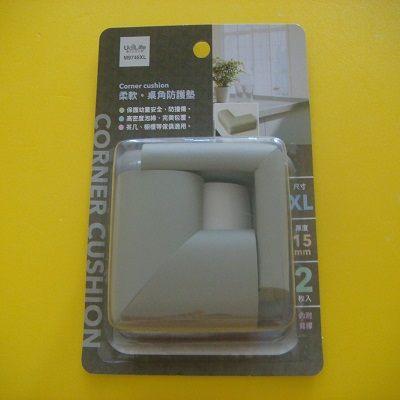 柔軟桌角防護墊(特大-2入-灰色)/兒童防撞器/保護墊/保護套/居家安全防護用品/完美包覆.防撞傷