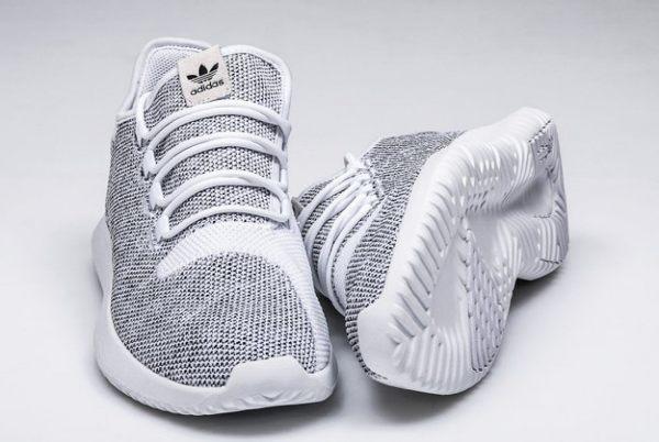 Adidas Tubular Shadow灰白編織小350情侶款平民版Yeezy350