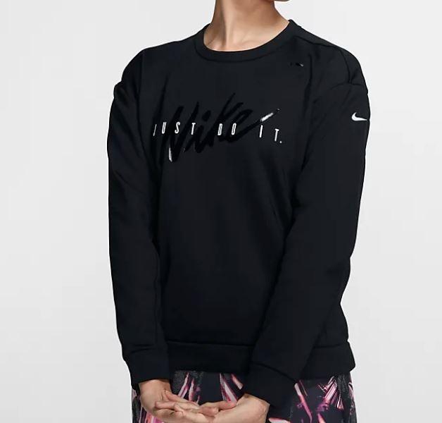 NIKE服飾系列-AS W NK THRM FLC ALL TM CRW NK 女款起绒上衣-NO.BV5226010