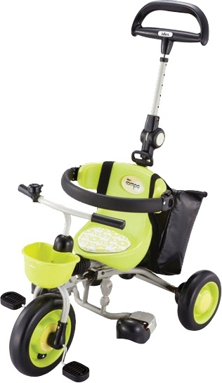 愛吾兒日本IDES新款寶寶第三代摺疊背包車-綠色