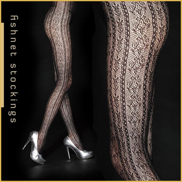 VOLA 維菈襪品‧歐式風情 流行花紋網襪 跑趴約會超性感-哥德式風格
