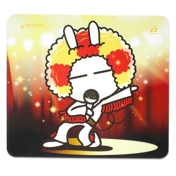 i2艾思奎兔斯基滑鼠墊-搖滾的我