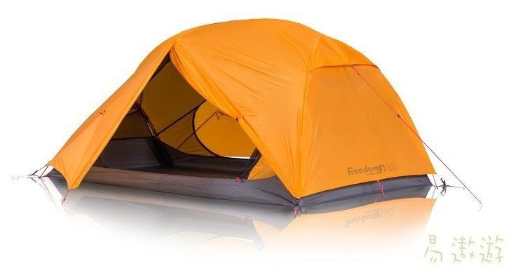 Zempire 紐西蘭 宙斯 二人登山帳篷鋁合金營柱/抗UV 130331 露營帳篷 輕量帳 [易遨遊]