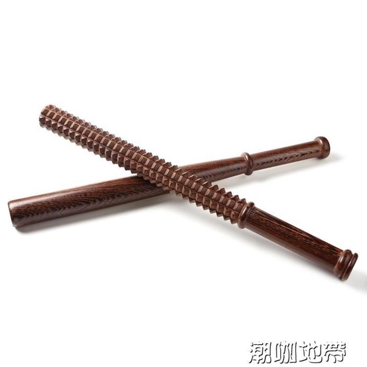 棒球防身棒實木硬木桿實心棒防身棍潮咖地帶