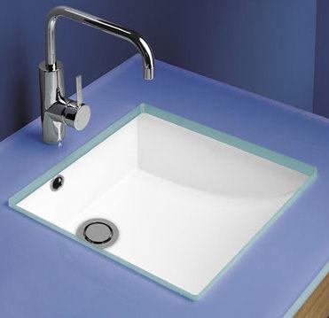 麗室衛浴方形下崁盆YG540 43*43CM