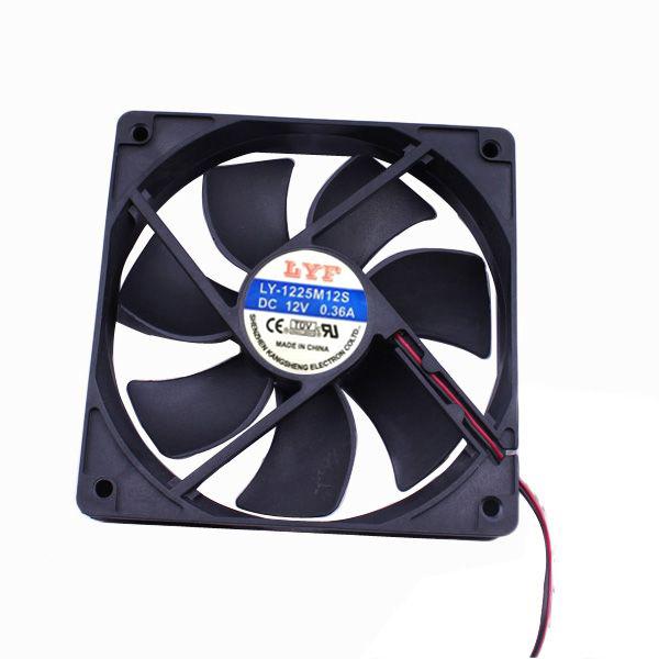 DA量販店高轉速電腦12公分機殼機箱風扇系統散熱風扇23-021