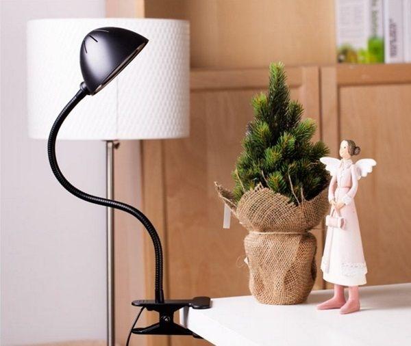 MY COLOR LED夾式節能燈臥室護眼學習閱讀床頭燈USB充電檯燈桌燈學生夜燈P17-2