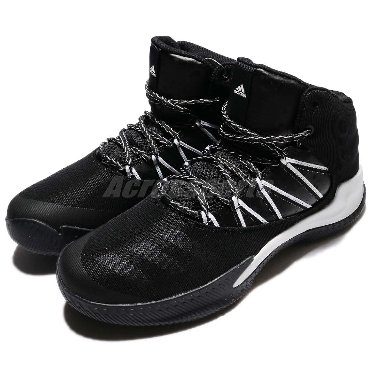 adidas籃球鞋Infiltrate黑白運動鞋戶外球鞋基本款高筒男鞋PUMP306 BW1359