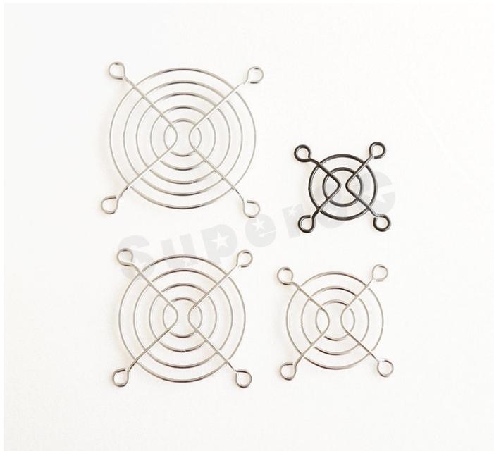 新竹超人3C 7公分7cm濾網風扇護網金屬除塵網過濾網防塵防塵罩鐵網0090169 3Q4
