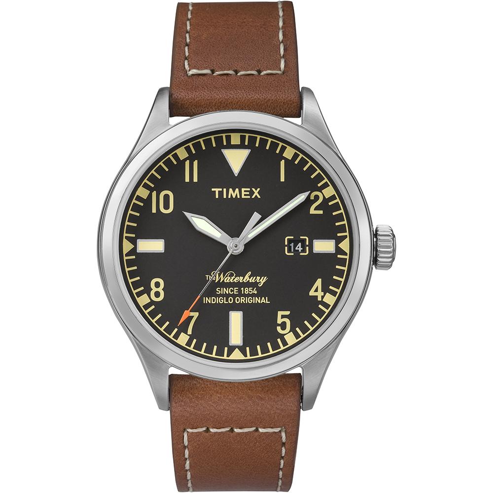 【TIMEX】天美時 x RED WING 限量聯名Waterbury潮流手錶(朱紅 TXT2P84000)