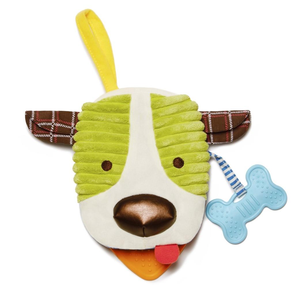 美國Skip Hop圍巾小伙伴系列-小狗玩偶書