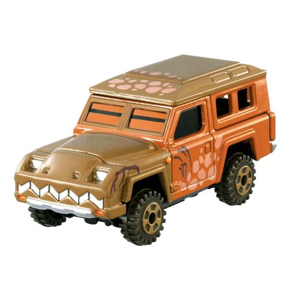迪士尼模型車 迪士尼艾克斯巡洋艦暴龍吉普玩具車/迷你小汽車/模型 [喜愛屋]