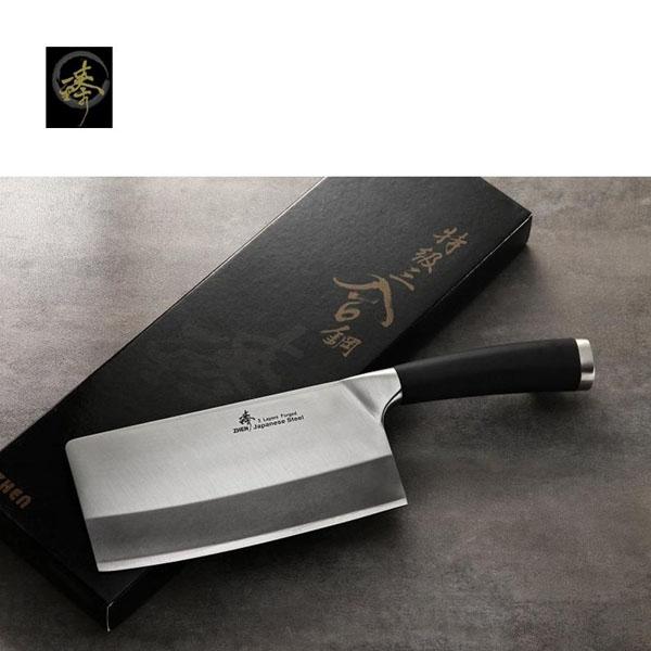 料理刀具三合鋼系列-中式菜刀-小剁刀臻高級廚具-SC829-4CS TPR