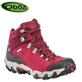 丹大戶外【Oboz】美國 Bridger Mid BDry 女款 登山戶外鞋 輕量級 防水透氣 OB22102 桃紅 RIRE