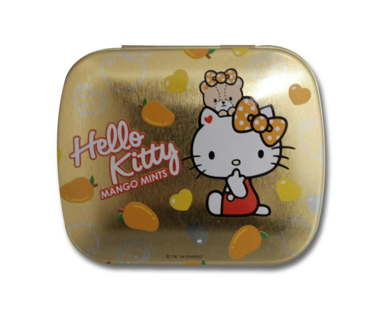CHOKITO巧趣多kitty無糖薄荷糖-芒果口味 (14公克/盒)   *維康