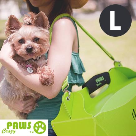 外出籠貓狗外出提袋外出包寵物包瘋狂爪子V1伊西歐寵物提箱-L號YV6609快樂生活網