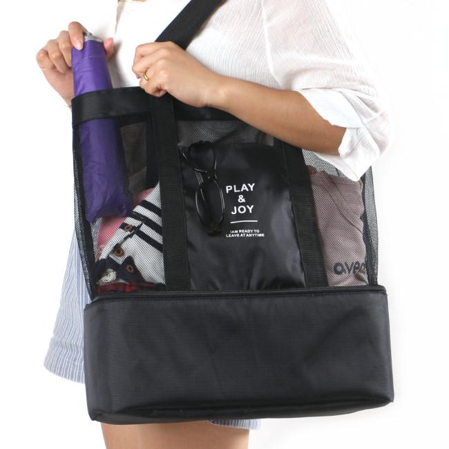J精選多功能手提保溫袋保冰袋野餐袋購物袋